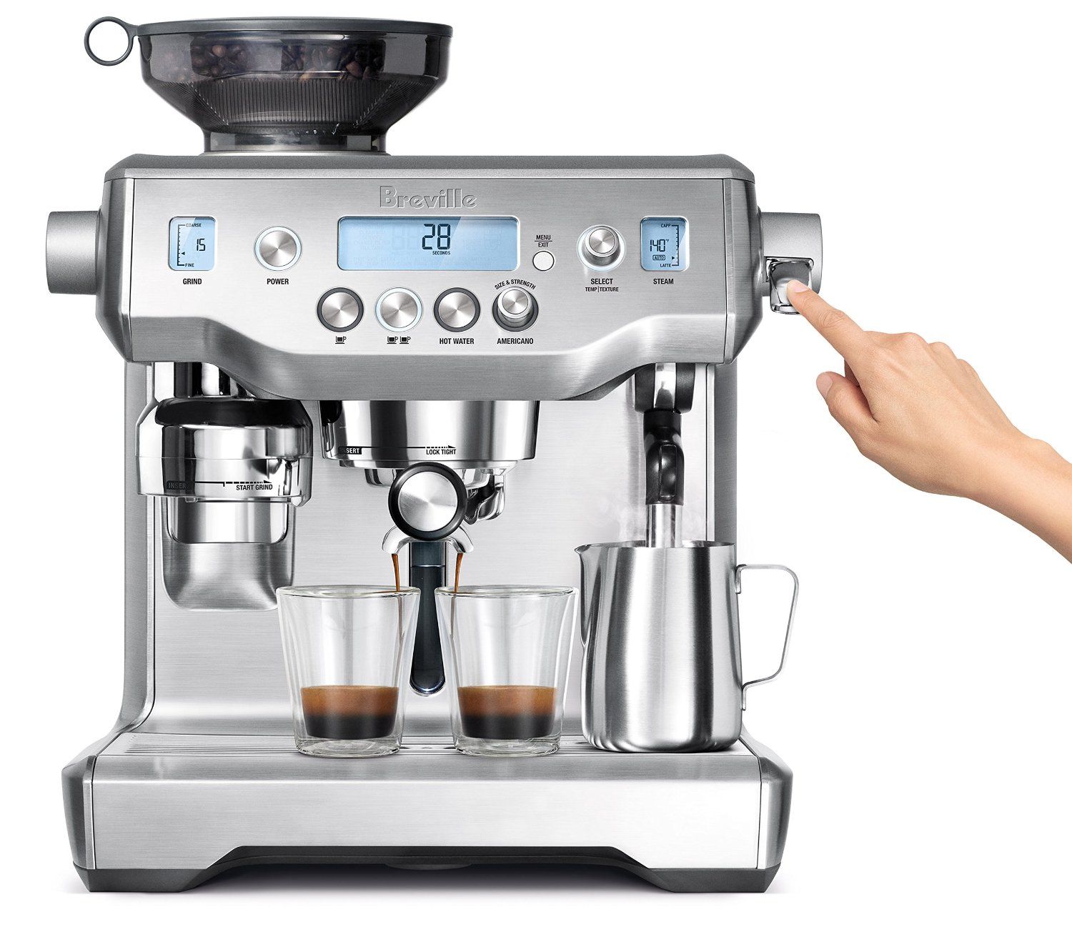 best home espresso machine reviews delonghi gaggia. Black Bedroom Furniture Sets. Home Design Ideas