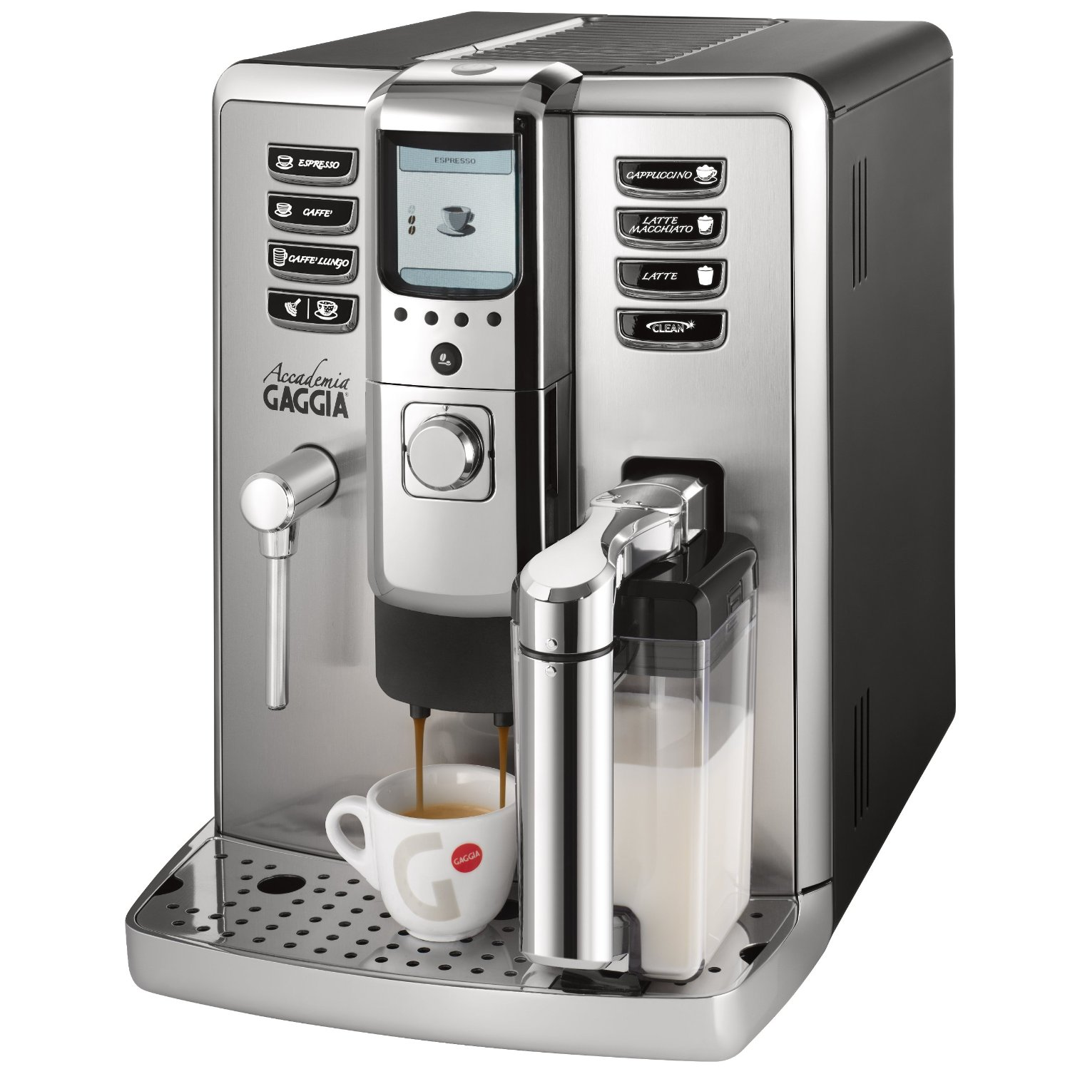 33 best super automatic espresso machine reviews gaggia for Best coffee maker