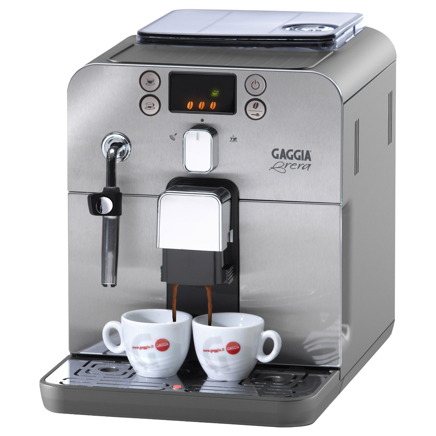 gaggia brera espresso machine view on amazon