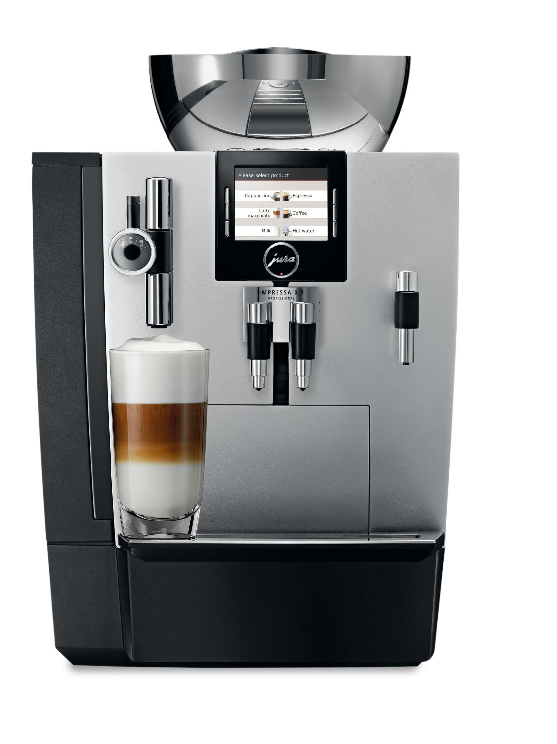 jura impressa xj9 espresso machine view on amazon