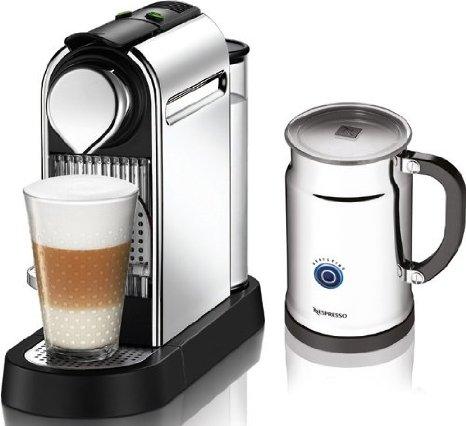 Nespresso citiz milk silver