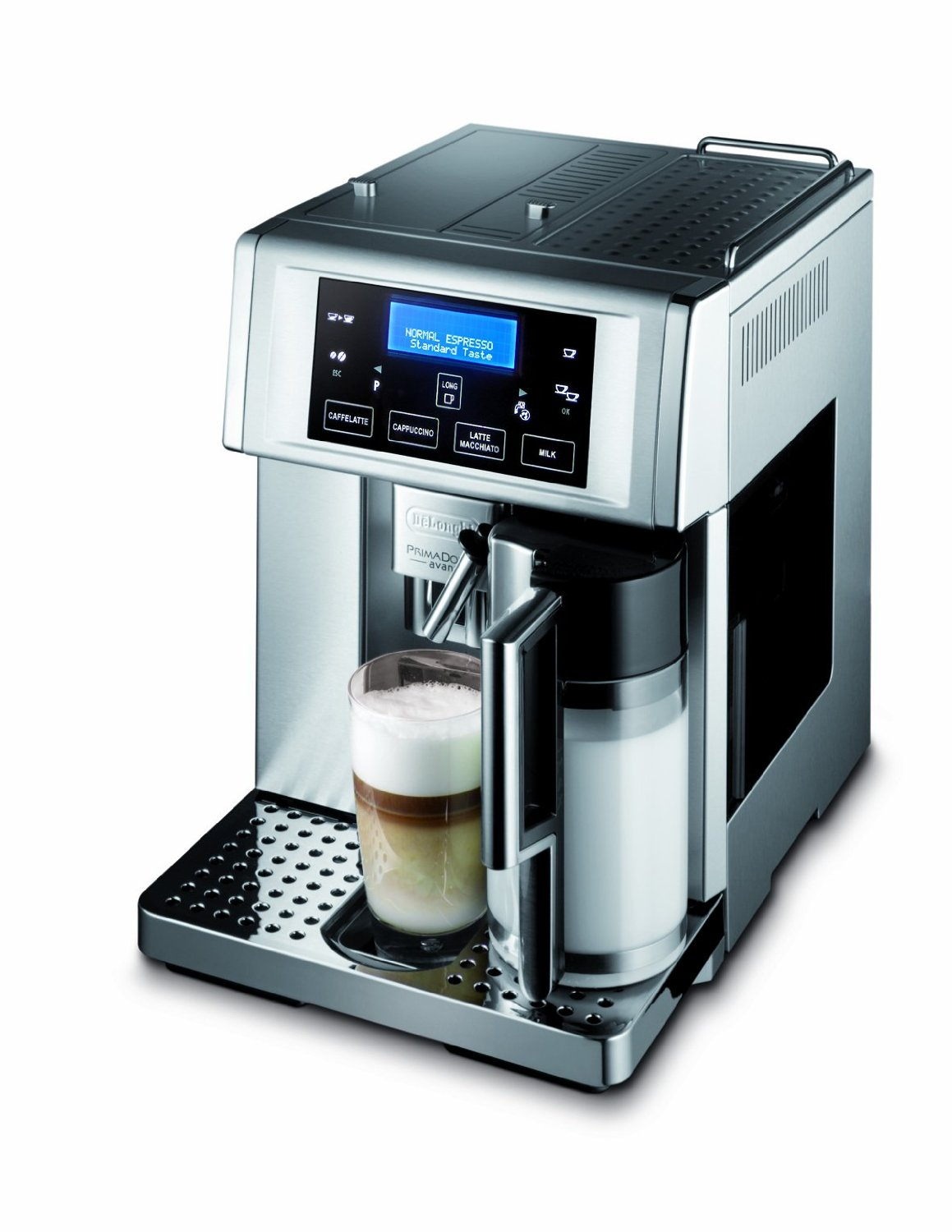 delonghi super automatic espresso machine reviews coffee. Black Bedroom Furniture Sets. Home Design Ideas