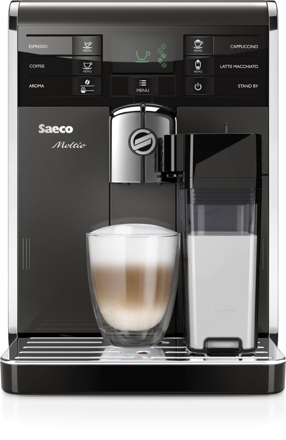 Saeco Hd8869/47 Moltio Super Automatic Espresso Machine (View on Amazon)