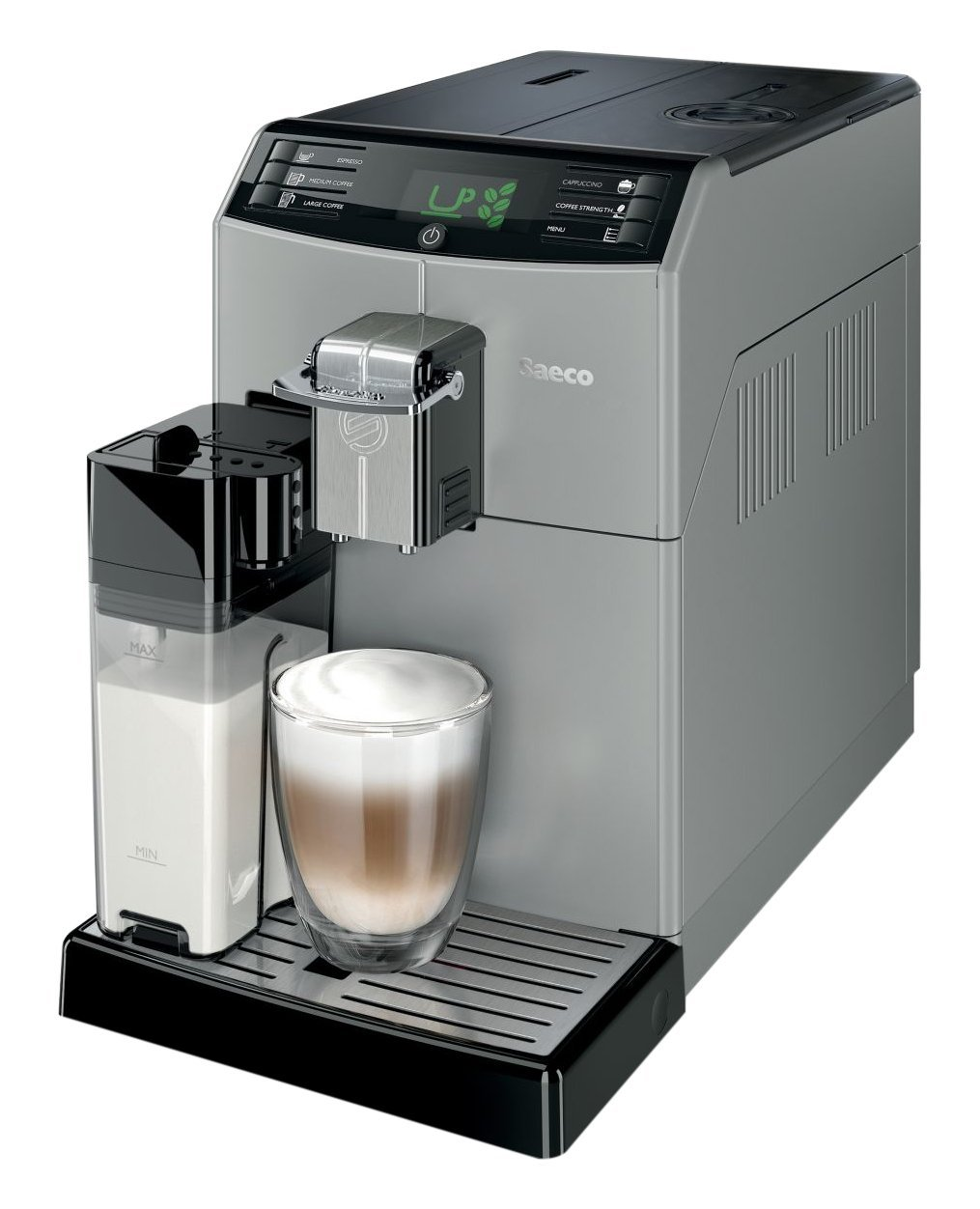 Saeco Minuto Super Automatic Espresso Machine (View on Amazon)
