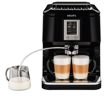 2 krups 2in1 touch cappuccino fully automatic espresso machine - Jura Espresso
