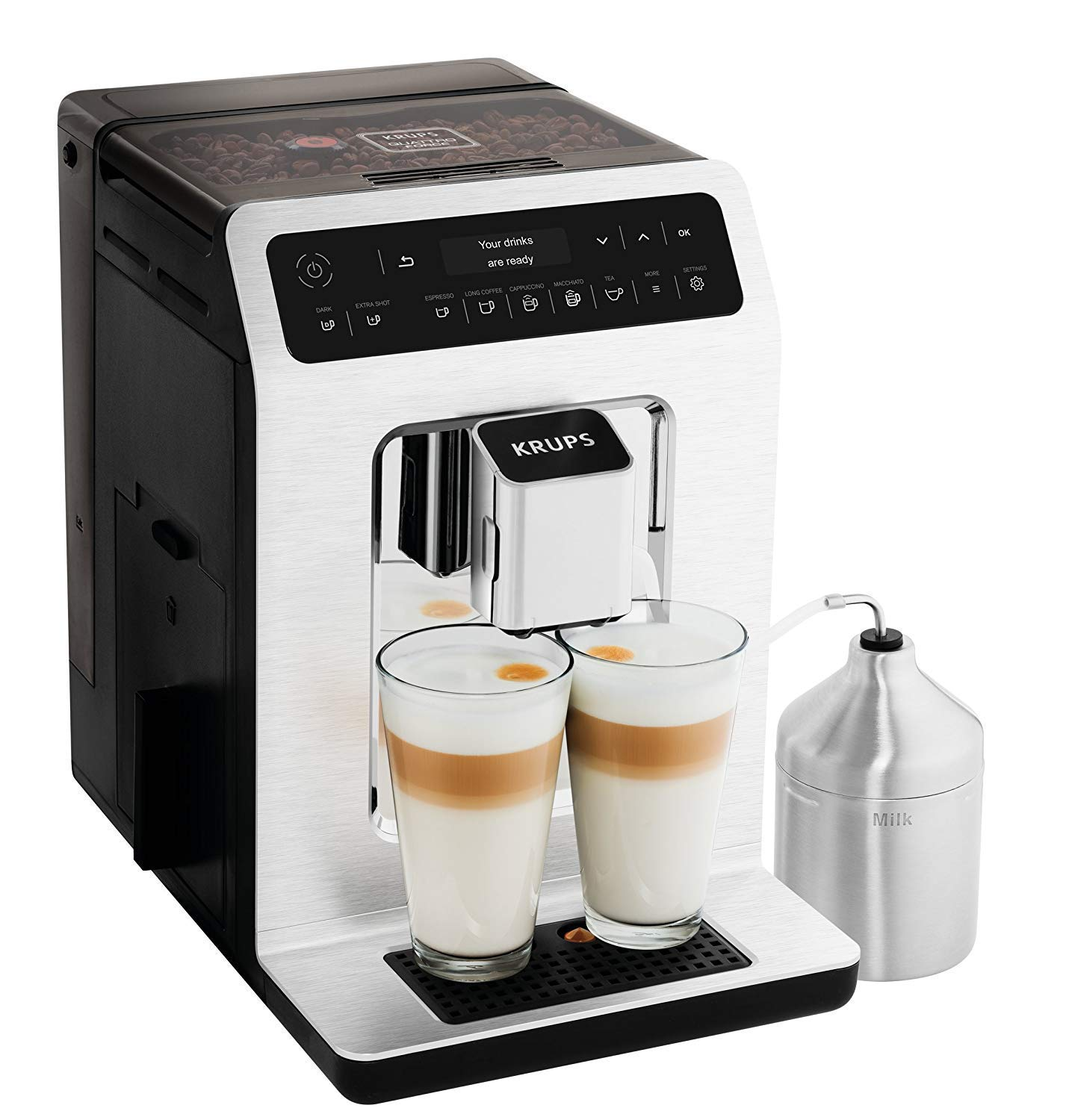 krups superautomatic espresso machine reviews coffee on. Black Bedroom Furniture Sets. Home Design Ideas